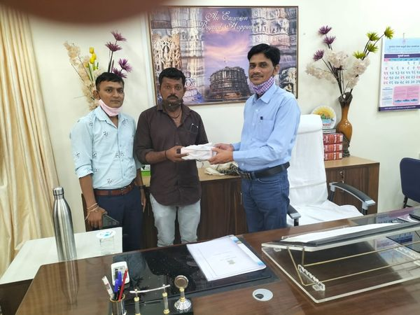 Welcome Ceremony of District Collector