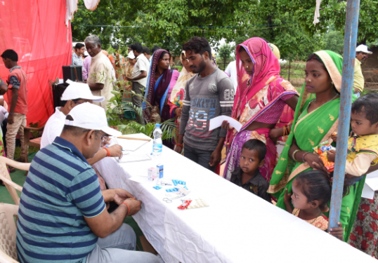 Free Medicine Distribution in Hospitals
